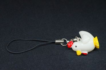 Chicken Chook Hen Mobile Phone Charm Pendant Miniblings Cellphone Accessoires – Bild 4