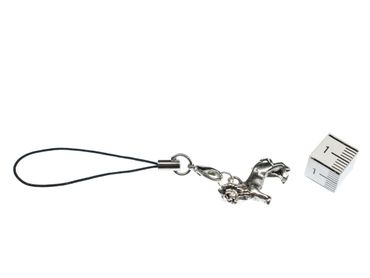 Lion Lions Mobile Phone Charm Pendant Decoration Miniblings Silver Carnivore – Bild 2