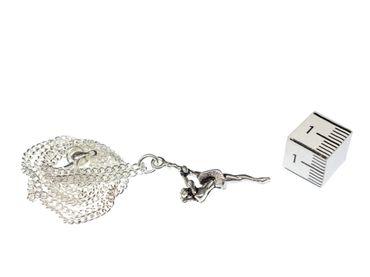 Ballerina Girl Ballett Dancer Necklace Miniblings 45cm Silver Plated Pendant – Bild 4