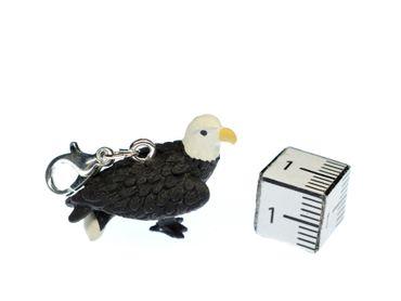 Weißkopfseeadler Charm Tier Anhänger Miniblings Bettelarmband Gummi Adler Tiere – Bild 2