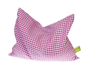Cherry Pit Pillow Cushion Health Miniblings 22X18cm Checked Purple White Warm – Bild 2