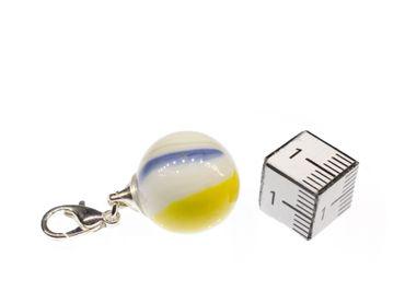 Marble Glass Marbles Charm Miniblings Taw Zipper Pull Pendant For Bracelet – Bild 3