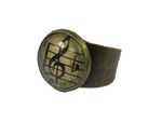 Clef Music Ring Note Miniblings Cabochon Treble Clef 14mm Orchestra Bronze Colour