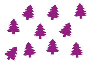 10x Tanne Bügelbild Bügelbilder Aufnäher Patch Miniblings FLOCK Weihnachtsbaum – Bild 6