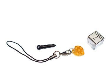 Waffelherz Handyanhänger Miniblings Handyschmuck Anhänger Waffel Herz Waffeln – Bild 2