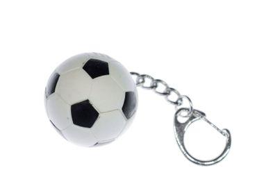 Fußball Schlüsselanhänger Miniblings Anhänger Fußball Ball EM WM Sport Gummi – Bild 1