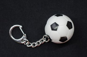 Fußball Schlüsselanhänger Miniblings Anhänger Fußball Ball EM WM Sport Gummi – Bild 3