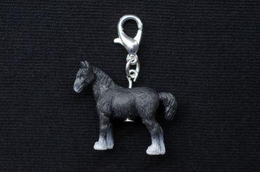Horse Charm Miniblings Zipper Pull Pendant For Bracelet Wristlet Farm Animal – Bild 3