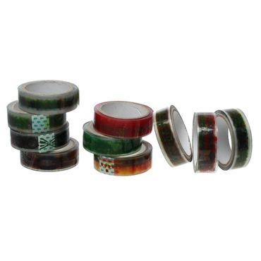 10x 9m Masking Tape Klebeband  Miniblings Sticker Band Kleber Scrapbooking Motiv – Bild 3