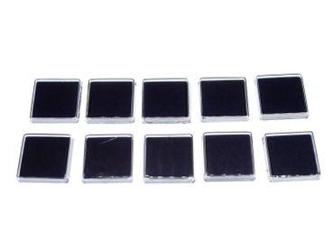 10x Stempelkissen blau Stempel Miniblings Scrapbooking Stempeln Schreibwaren – Bild 2