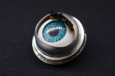 Eye Brooch Pin Miniblings Anatomy Human Medical Organ Horror Halloween Doll Eyes – Bild 3