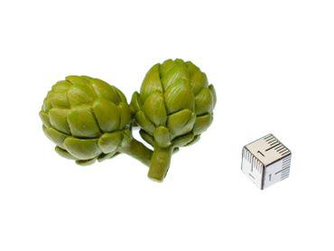 Artischocke Brosche Miniblings Anstecknadel Gemüse Lebensmittel Essen Gummi – Bild 4