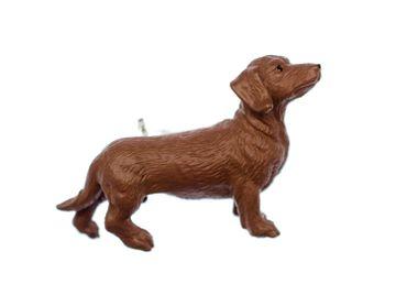 Dackel Brosche Dackelbrosche Miniblings Hund Dachshund Gummi Haustier Jagdhund – Bild 1