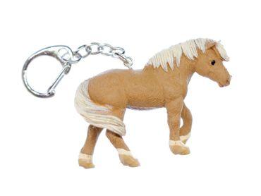 Haflinger Schlüsselanhänger Pferd Miniblings Schlüsselring Reiten Huftier Pony – Bild 4