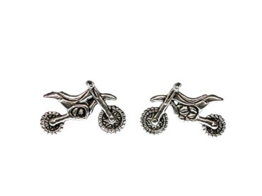Motorbike Motocross Earrings Ear Studs Stud Earstuds Miniblings vehicle Quad – Bild 1