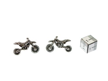 Motorbike Motocross Earrings Ear Studs Stud Earstuds Miniblings vehicle Quad – Bild 2