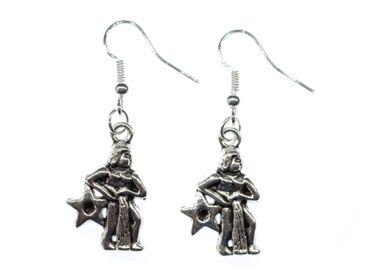 Wassermann Stern Ohrringe Ohrhänger Miniblings Sternzeichen Sternbild Astrologie – Bild 1