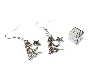 Jungfrau Stern Ohrringe Ohrhänger Miniblings Sternzeichen Sternbild Astrologie – Bild 3