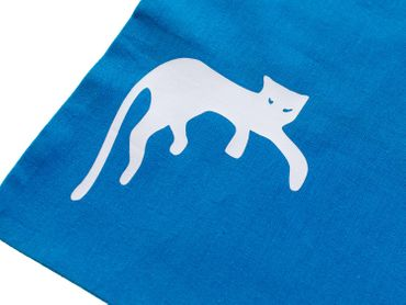 Children'S Cotton Carrier Bag Jute Kalle Fux Panther Cat Cats Pet Animal – Bild 2