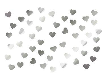 50x Sticker Herz Reflektor Miniblings Aufkleber DIY Kleber Herzen Reflektorfolie
