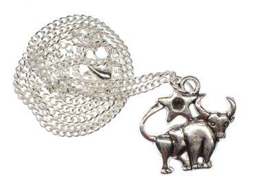 Stier Stern Kette Halskette Miniblings 45cm Sternzeichen Sternbild Horoskop – Bild 1