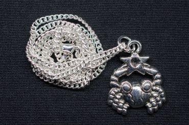 Krebs Stern Kette Halskette Miniblings 45cm Sternzeichen Sternbild Horoskop – Bild 3