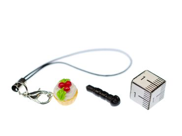 Cupcake Of Cake Mobile Phone Charm Pendant Miniblings  Cake Muffin Sweets  – Bild 2