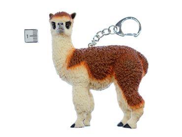 Alpaka Schlüsselanhänger Miniblings Anhänger Lama Wolle Südamerika Alpacka Kamel – Bild 2
