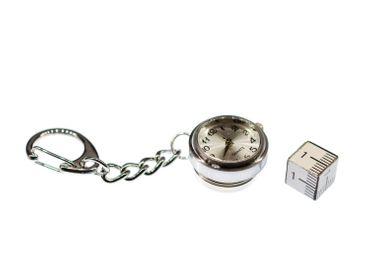 Uhr Funktioniert Schlüsselanhänger Miniblings Snap Button Uhrzeit Armbanduhr – Bild 4