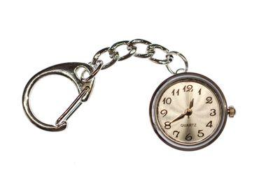 Uhr Funktioniert Schlüsselanhänger Miniblings Snap Button Uhrzeit Armbanduhr – Bild 1