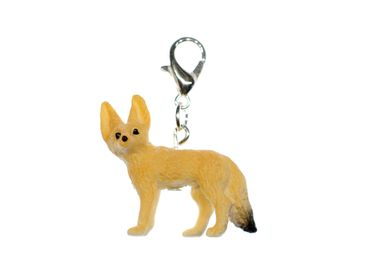 Desert Fox Charm Miniblings For Bracelet Wristlet Dangle Forest Animal Fennec – Bild 1