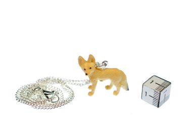 Desert Fox Necklace Miniblings 45cm Forest Animal Nature Animals Fennec – Bild 3