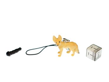 Desert Fox Mobile Phone Charm Pendant Miniblings Foxes Rubber Animals Animal – Bild 2