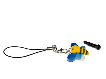 Butterfly Mobile Phone Charm Insects Caterpillar Moth Miniblings Mix Multicolor – Bild 1