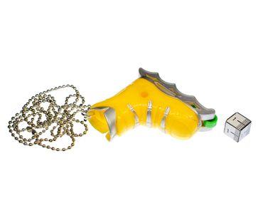 Roller Skate Necklace 80cm Rollerblade Inliner Skating Pendant Miniblings Yellow – Bild 2