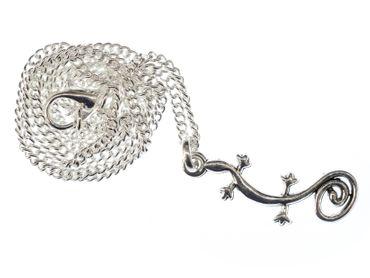 Charms Anhänger *GECKO Echse Charm Eidechse Salamander für Bettelarmband Kette