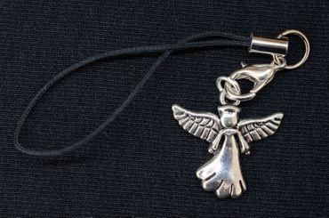 Angel Mobile Phone Charm Miniblings Guardian Angel Angels Saints Patrons Metal – Bild 3