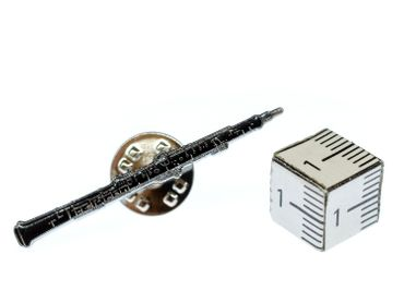Oboe Brooch Miniblings Pin Button Music Musician Wind Instrument Jazz Flute – Bild 1