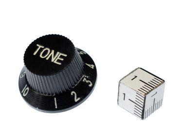 Tone Poti Guitar Brooch Pin Badge Miniblings Volume Knobs Band Music E-Guitar – Bild 2