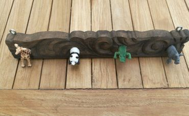 Wardrobe Child Kid Children Miniblings Zoo Animal Coat Hooks Upcycling Handmade 4 – Bild 7