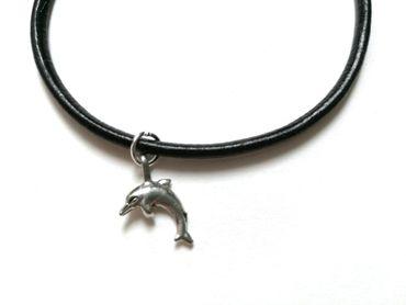 Delfin Lederarmband Miniblings Delfinarmband Armband Delphin Tümmler Tauchen – Bild 1