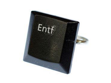 Entf Keyboard Ring Delete Key Miniblings Computer PC Individual Fingerring – Bild 4