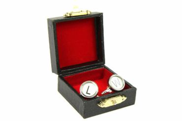 Request Letter Customized Initial Cuff Links Cufflinks Typewriter Keys Miniblings Know J +? – Bild 2