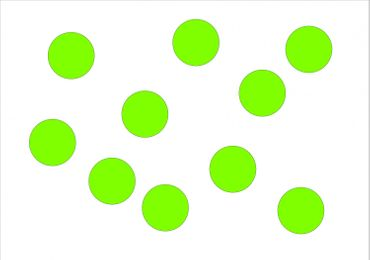 10x Bügelbild Bügelbilder Aufnäher Patch Miniblings 11mm GLATT Punkt Punkte Dots – Bild 22