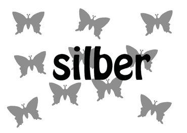 10x Bügelbild Bügelbilder Aufnäher Patch Miniblings 25mm GLATT Schmetterling – Bild 11