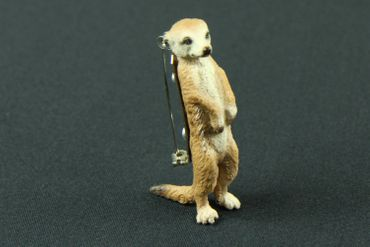 Meerkat Brooch Miniblings Pin Pin Buttons Prairie Dog Desert
