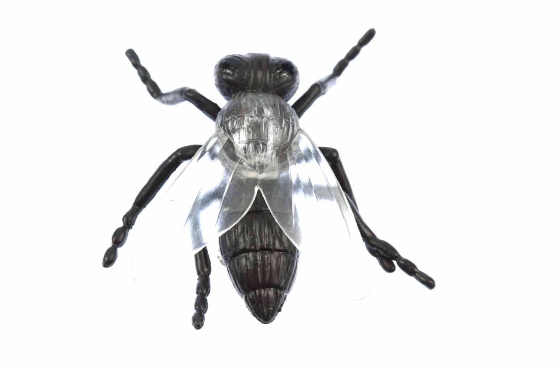 Fliegenbrosche Brosche Pin Fliege Button Miniblings Schmeißfliege Halloween 2cm