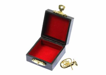 Tubabrosche Brosche Tuba Anstecker Pin golden +Box Miniblings Tubist Instrument