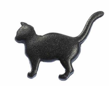 Katze Brosche Katzenbrosche Pin Miniblings Button Anstecker Cat Anstecknadel