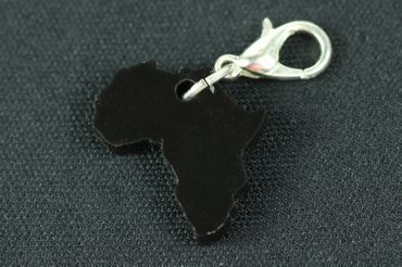 Africa Charm For Bracelet Wristlet Dangle Charms Miniblings Travel Africa Acrylic – Bild 2